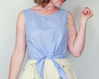 The Hunter Tank Blouse Women's PDF Sewing Pattern Size 6 to 24
