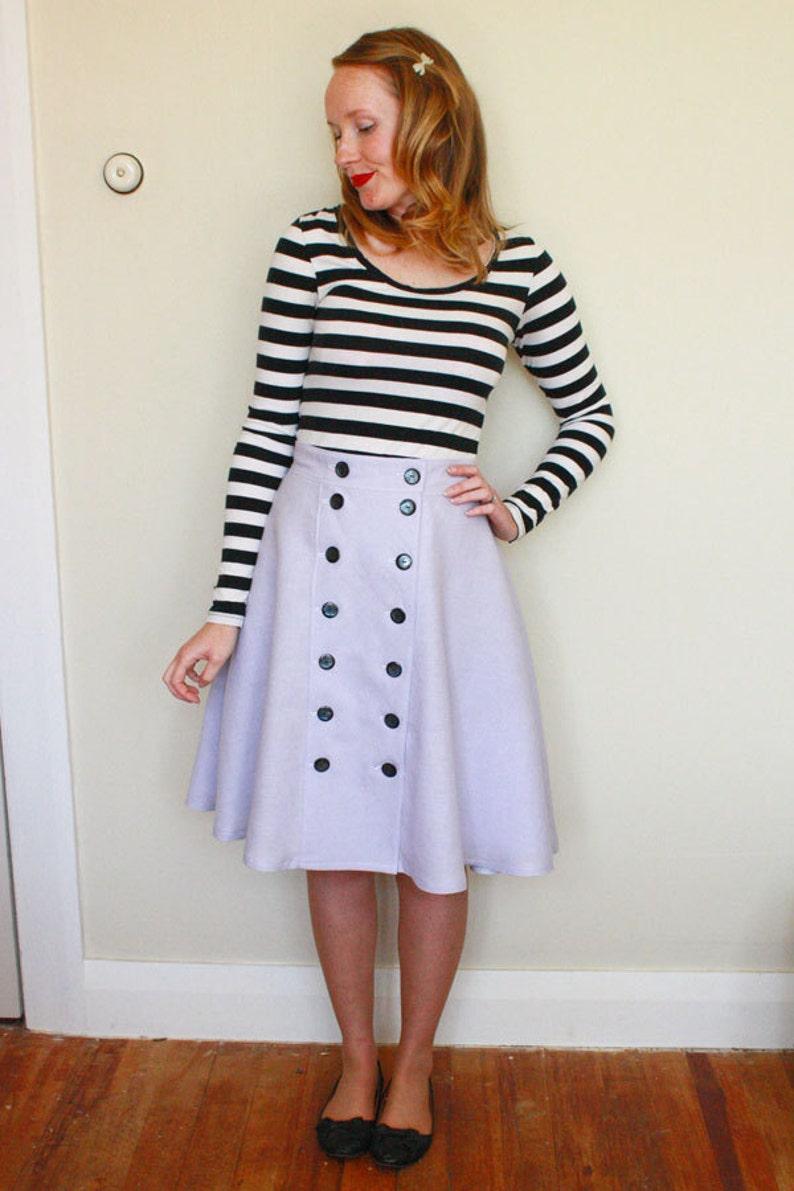 Cressida Skirt Ladies PDF Sewing Pattern Multi Size 6 to 20 image 0