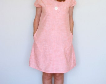 Afternoon Blouse and Shift Dress Women's PDF Sewing Pattern Size 6 to 24
