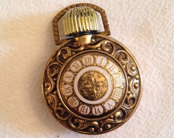 Tiny Vintage Perfume Pendant