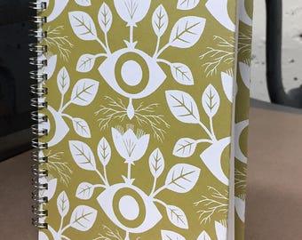 Blank Sketchbook with silkscreen cover
