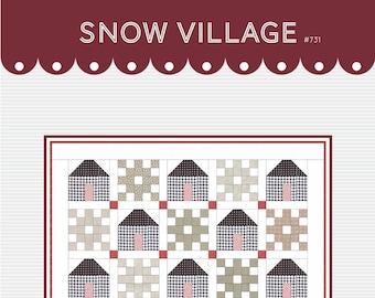 Snow Village DIGITAL pattern