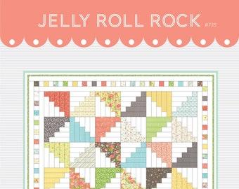 Jelly Roll Rock DIGITAL Pattern #735