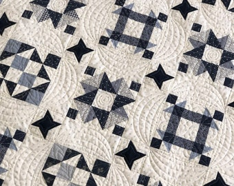 Blue and White Willow Quilt