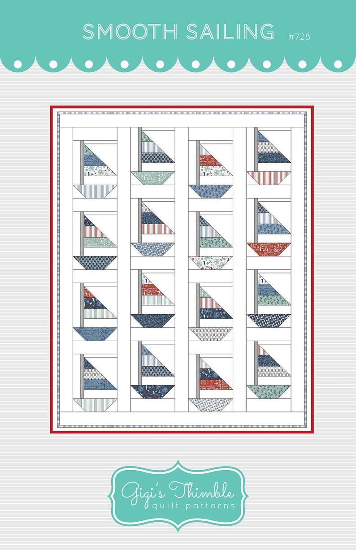 Smooth Sailing PAPER pattern 728