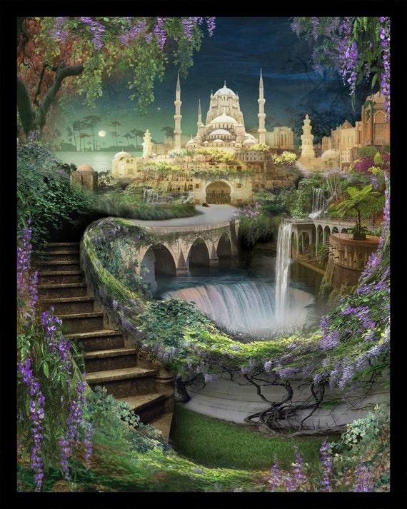 Lost Lands Of Imagination The Hanging Gardens Of Babylon | Etsy