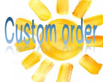 Custom order for Shop126