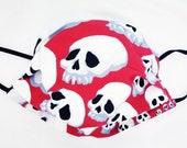 Skulls fabric mask