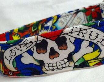 Valentines Day Dog Collar - Ed Hardy Fabric 735fc332cc