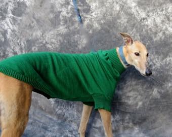 Greyhound Sweater, Medium, Green
