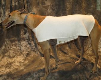Greyhound Cool Down Coat, Medium, Ivory