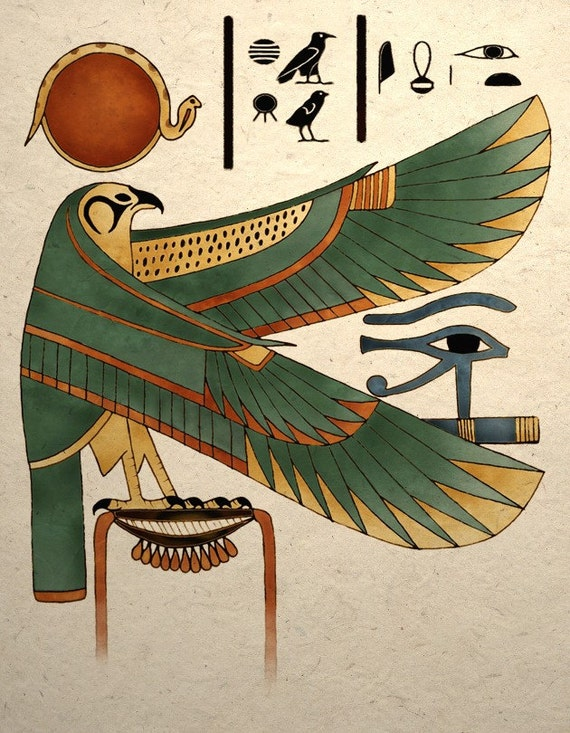 A Brief History of Egyptian Art (Article) - Ancient ... |Egyptian Art Paintings