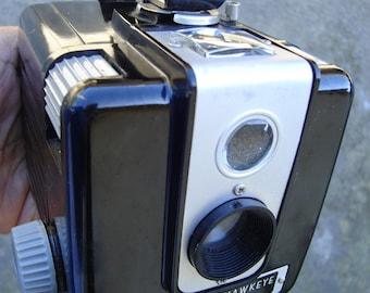 Kodak Brownie -  Hawkeye Camera with Flash and hand strap