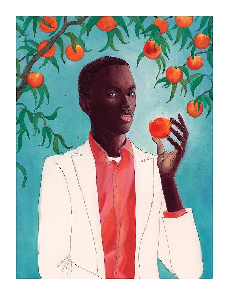 Peach  fine art print image 0