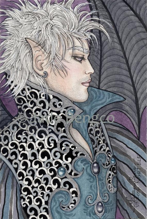 Fantasy Art Sexy Elven Male