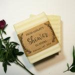 Mini Soap Favors - 2.5oz Vegan Organic Wedding Soap Favors, Bridal Shower Favors, Spa Favor, Thank You Guest Gifts, Baby Shower Soap Favors