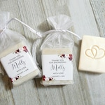 Wedding Shower Soap Favors - 3.5oz Soap, Winter Bridal Shower Favors, Winter Wedding Favors, Organic Soap Favors for Guests