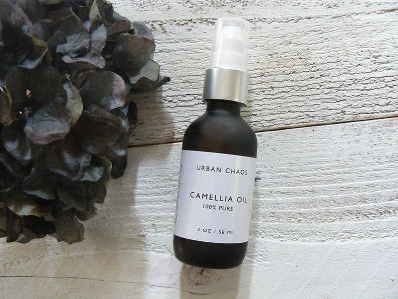Organic Camellia Oil Virgin 100% Pure  Face Moisturizer image 0