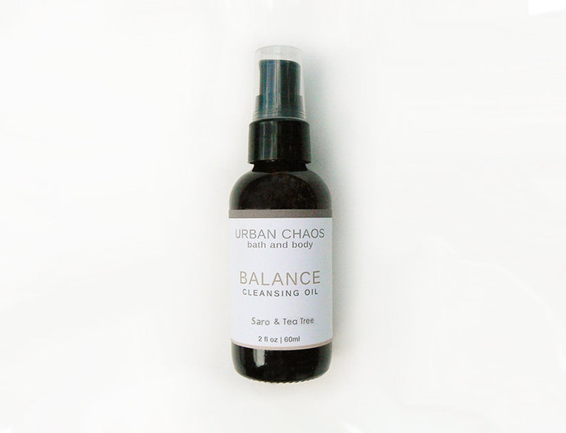 Organic Oil Cleanser  2oz Organic Face Wash for Men and image 0