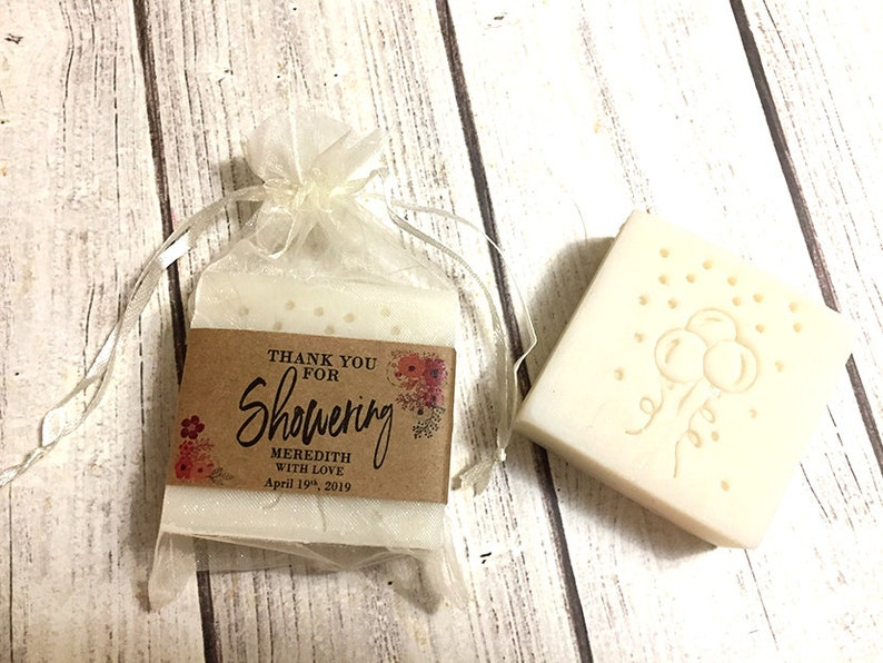 Baby Shower Soap Favors  3.5oz From My Shower to Yours Boy image 0
