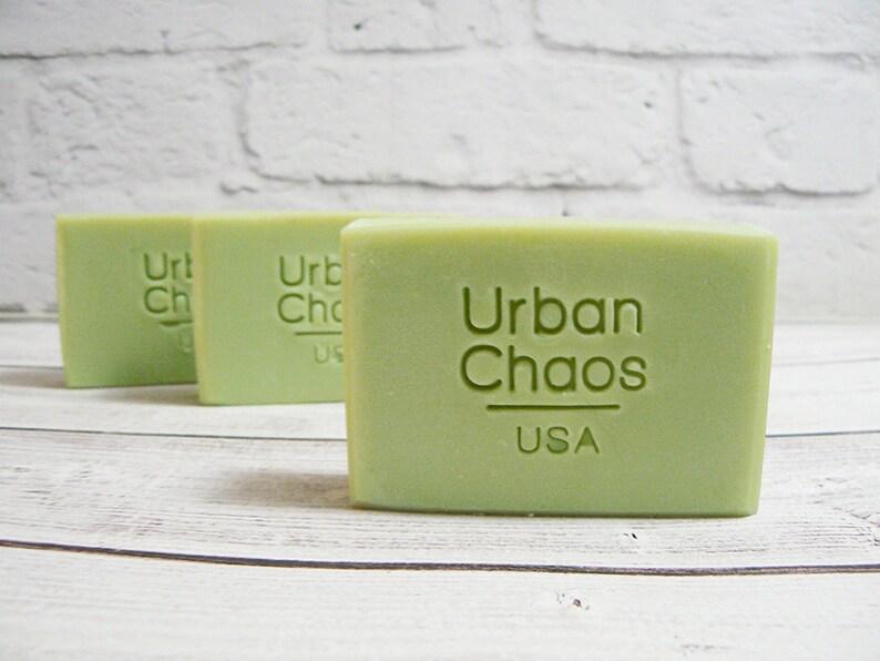 Lemongrass Soap  Essential Oil Soap Natural Vegan Soap Cold image 0