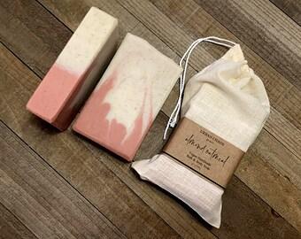 Unscented Oatmeal Soap - 4.5oz Natural Soap, Organic Oatmeal Soap, Handmade Natural Soap, Exfoliating Essential Oil Soap - Wholesale Soap