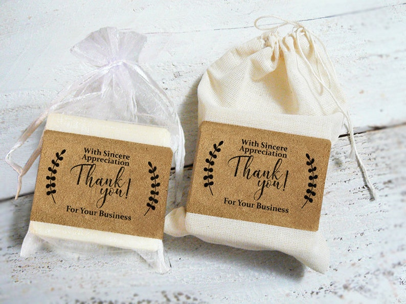 Corporate Gifts  3-1/2oz Soap w/ Gift Bag Business Gifts image 0