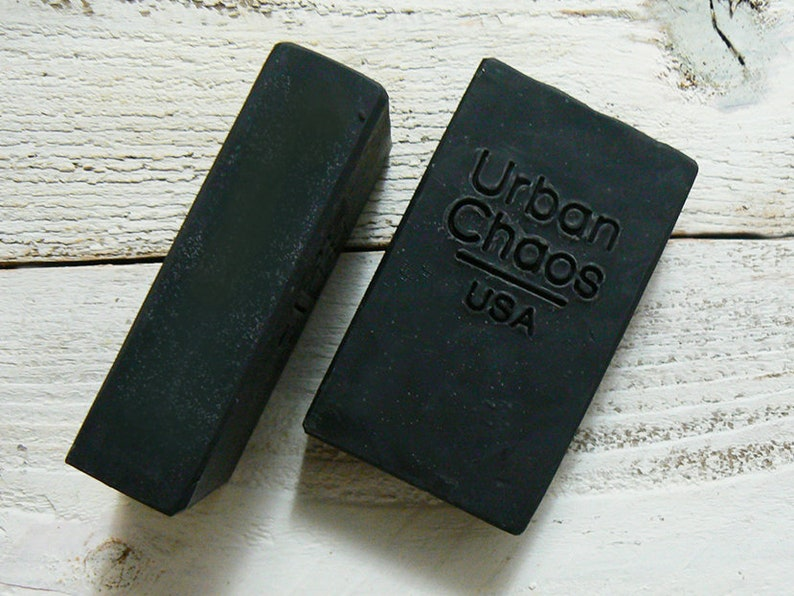 Charcoal Soap  5oz Charcoal Face Soap for Acne Natural Body image 0