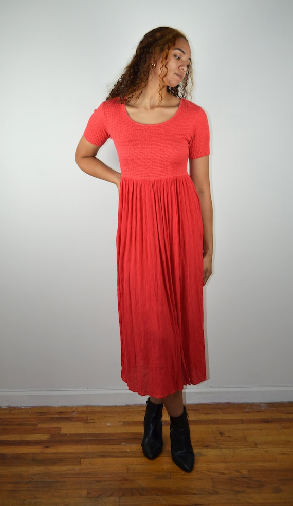 Vintage 90s Y2K Dress / 1990s Y2K Vintage Dress /