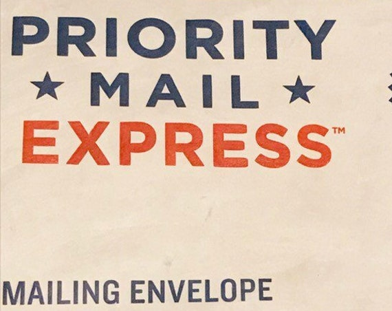 Add On USPS Express Mail Domestic Shipping up to  1.1 LBS