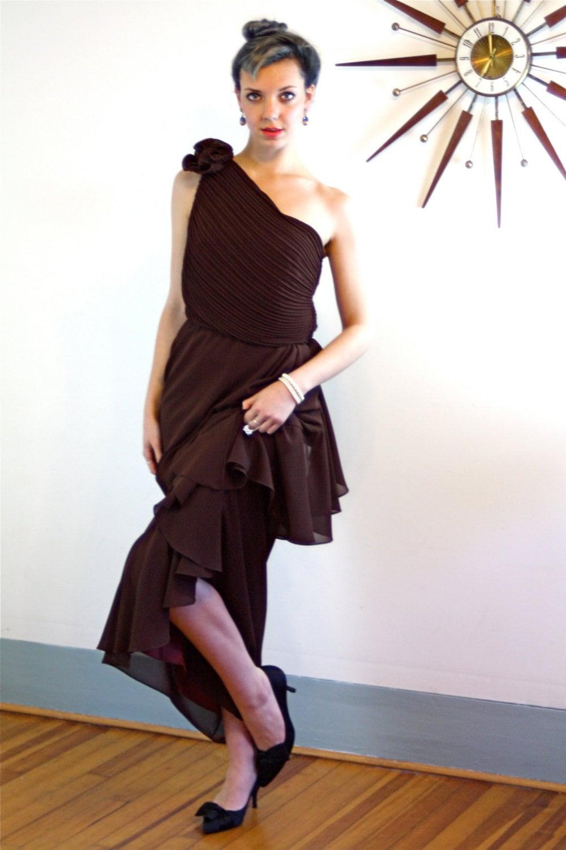 f20df050321 Vintage Chiffon Maxi Dress