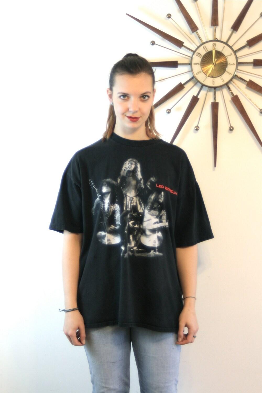 LED ZEPPELIN Tee, Band t-shirt, Vintage t-shirt, Black ...