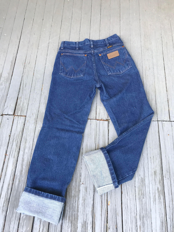 56bc3d19 80s Vintage Wranglers, High Rise Jeans, vintage denim, high rise ...