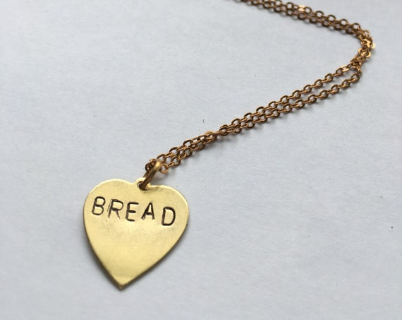 Oprah BREAD charm necklace