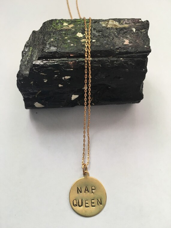 Fetty Wap Trap Queen ~ Nap Queen Necklace