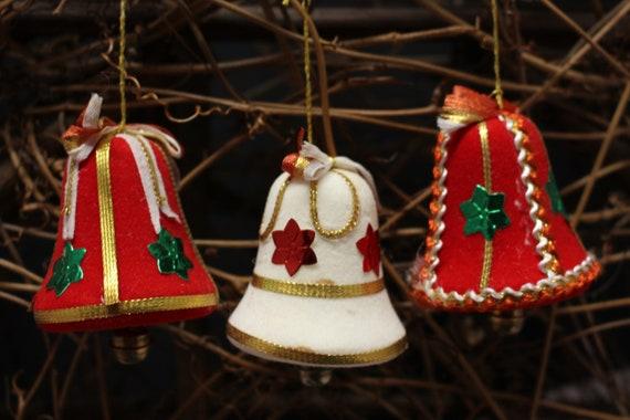 Vintage Trio Christmas Ornaments