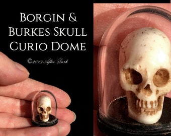 Borgin Burkes Skull Curio - Harry Potter - Haunted Range - Dollhouse Halloween Decor - 12th scale After Dark miniatures