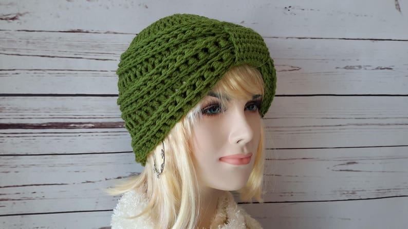 3c120544b9a Knit Turban Fashion Turban hat knitted womens winter hat