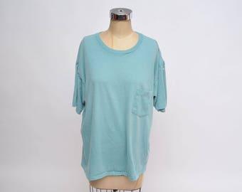 vintage tshirt POCKET T-SHIRT oversized boyfriend fit sun faded yvk0Ovp
