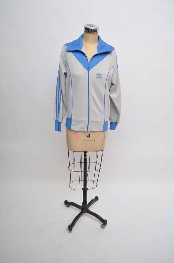 80er Jahre verfolgen Adidas Jacke Damen ML | Etsy