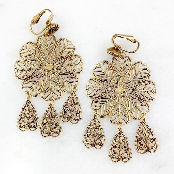 Vintage Jewelry - Vintage Earrings, Dangle Earring