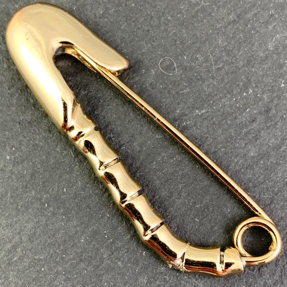 Vintage Safety Pins, Gold Safety Pin, Safety Pins,