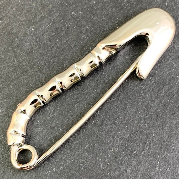 Vintage Safety Pins, Silver Safety Pin, Safety Pin
