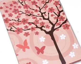 Passport Cover  - Cherry Blossoms