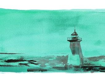 Green Light Limited Edition Fine Art Print