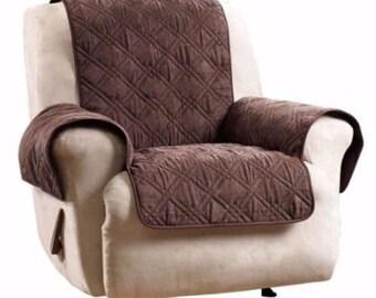 Pleasing Recliner Covers Etsy Customarchery Wood Chair Design Ideas Customarcherynet