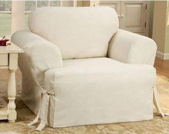 Terrific Chair Slipcover Etsy Download Free Architecture Designs Estepponolmadebymaigaardcom