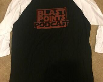 Blast Points red jersey shirt