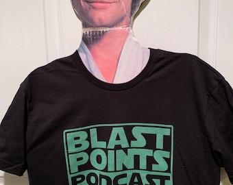 Blast Points 2021 Green Logo tee