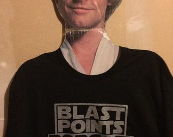 Blast Points silver logo tee (mens)